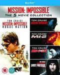 "Blu-Ray ""Mission Impossible"" 1-5 Box Set £17.25 (~AU $29.80) Delivered @ Amazon UK"