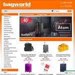 Extra $30 off When You Spend $300 or More at bagworld.com.au