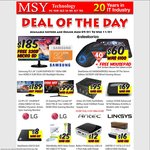 "MSY LG IPS 25"" 21:9 (2560x1080) $189, USB 3 2.5/3.5 Docking With OTB $16, SteelSeries Mouse $60, Antec EA PS 550w $95, 650w $104"