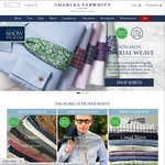 Charles Tyrwhitt - Free Polo Shirt and Shipping for Orders over $75