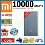 Xiaomi 10000mAh Mi Power Bank PRO (USB Type-C Both Ways) $30.01 Delivered (AU) Grey Colour, Local Stock @ Twin Point eBay