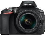 Nikon D5600 DSLR Camera with 18-55mm Lens Kit $747 (after $100 Cash Back) @ Harvey Norman