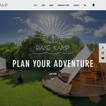BaseKamp - Large Bell Tents on Presale $399 Free Shipping - RRP $549 - Delivery on 10 Sep