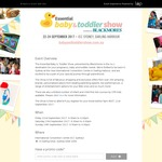Free Tickets to The Baby & Toddler Show - Sydney (September 22-24)