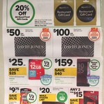 20% off Good Food Gift Cards at Woolworths