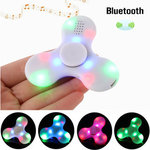 Back in stock-ECUBEE Bluetooth Hand Spinner Chargeable Music LED Fidget Spinner Gadget  $2.48 USD /  $3.35 AUD @ Banggood