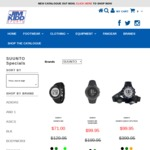 Suunto Quest GPS Pack - $99.95 + $15 Shipping + More @ Jim Kidd Sports