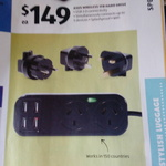 ALDI Universal Travel Adaptor $19.99