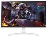 "LG 27UD69-W 27"" LED LCD Gaming Monitor 5MS UHD 4K 3840x2160 HDMI $599.20 @ Futu eBay"