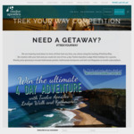 Win an All Inclusive 4-Day Getaway with Twelve Apostles Lodge Walk