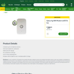 Optus 4g Wifi Modem (e5573) with 4GB / 28 Days of Data $29.50 (Was $59) Woolworths Online