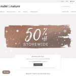 50% off Sitewide @ Nude by Nature