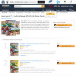 Avengers and Black Panther Kindle eBook/Comic 4 Book Series for Free @ Amazon US