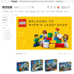 20% off LEGO @ Myer Online (Stacks with Anniversary Coupon): Death Star $619.96, VW Camper $115.20, BB8 $107.96