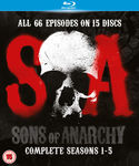 Sons Of Anarchy S01-S05 Blu Ray £15.98/$28.45 Delivered @ Zavvi