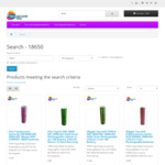 2x Samsung 30Q High Drain Lithium Rechargeable Batteries $14 Shipped (Sanyo, Panasonic, LG 18650) @ TechAroundYou