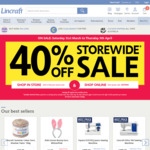 Lincraft - 40% off Everything Store Wide or Online @ Lincraft (Exclusions Apply)