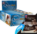 Quest Bars - 2 Boxes (24 Bars) $39.90 + $9.95 Delivery @ Supps R Us