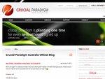 Crucial Paradigm - 300 Free Sydney Based Web Hosting Accounts