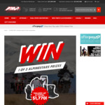 Win Alpinestars Motorcycle Jacket & Pants from AMA Worth $1,770