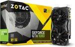 ZOTAC GeForce GTX 1080 Mini 8GB $499 USD (~$661 AUD) + Shipping @ Amazon USA