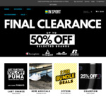 Final Clearance - up to 50% off Winter Clothing from Champion, Ellesse & Russell @ Insport.com.au