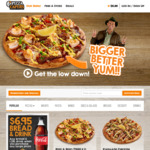 Small Pizza & Drink $11.95 (Excludes Student Range) - Lunch Deal @ Pizza Capers