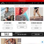 Flat $25 off with Free Standard Delivery on Hallensteins, Minimum Spend $100