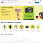 10% off Sitewide @ eBay (Min Spend $50, Max Discount $100)