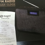 DAB+ Digital Radio with FM and Alarm Clock DS548+ $10 @ Target