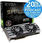 EVGA Nvidia GeForce GTX 1080 Superclocked OC 8GB $660 Delivered @ Tech Mall eBay