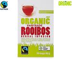 Organic Rooibos Herbal Infusion, Black Tea, Green Tea 75-100gm (50 Bags) $1.49 @ ALDI