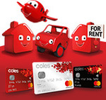 5% Cash Back on Coles Platinum Mastercard on Retail Purchases
