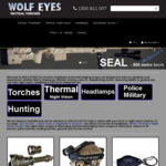 20% off All Our Torches and Headlamp @ Wolf Eye's Torches