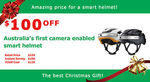 Airwheel C5+ Smart Bicycle Helmet +Christmas + $129 (44% off) + Free Shipping in Australia @ Hasinnoaustralia eBay