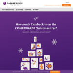 Win 1 of 24 Daily Cashback Prizes from Cashrewards