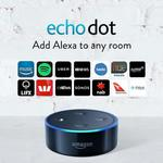 Buy 2 Echo Dots (2nd Gen) for $49 Delivered @ Amazon AU