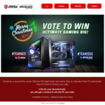 Win an MSI Team ACE or Team EDGE Gaming PC or 1 of 10 WD Black NVMe 500GB SSDs from MSI