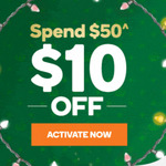Woolworths Rewards $10 off with E-Mail Activation