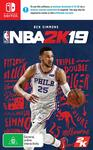 [Switch] NBA 2K19 $39 + Delivery (Free with Prime/ $49 Spend) @ Amazon AU