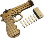 20% off 3D Puzzles - Including Beretta Hand Gun Pistol (Rubberband Powered Gun) $39.95 + Free Shipping @ Laser Cut Crafts