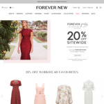 20% off Sitewide @ Forever New