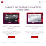 Virgin Australia Velocity Flyer Card: Bonus 60K Velocity Points by Spending $1500 Each Month for 20k Points Monthly + $64 Fee