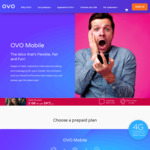 Double Mobile Data on Ovo - eg. Mini Now $9.95 for 2GB