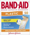 Band-Aid Plastic Strips 50 Pack $2.49 + Delivery (Free with Prime/ $49 Spend) @ Amazon AU