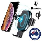 Baseus USB Qi Wireless Car Charger Mount Holder - 2 for $29.95 + Delivery (Free with eBay Plus) @ Shopping Square eBay