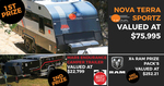 Win a Nova Terra Sports C-15 Caravan Worth $75,995 or 1 of 5 Runner-Up Prizes from Parable Productions