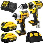 Dewalt Brushless Drill & Driver Combo (2x 4ah Batteries, Charger & Bag Inc) - $299 + $50 Store Credit @ Sydney Tools
