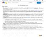 5% off $30 Minimum Spend (Max Discount $300) on Eligible Items @ eBay Australia