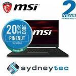"""MSI GS65 Stealth 15.6"""" 144Hz IPS i7-8750H RTX2080 $3,199.20, GE75 Raider 17.3"""" IPS i7-8750H RTX2060 $2,239.20 @ eBay Sydneytec"""